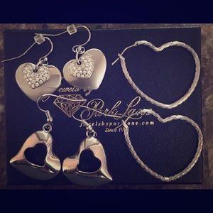 Park Lane Pierced Heart Earrings
